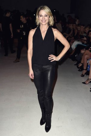 Amy Robach attends the Chiara Boni La Petite Robe collection
