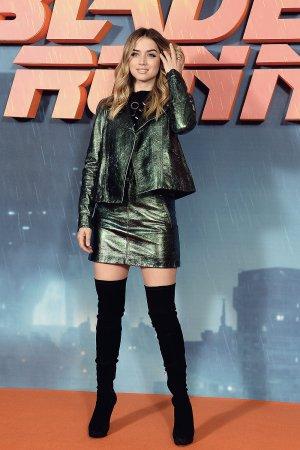 Ana de Armas attends Blade Runner 2049 Photocall