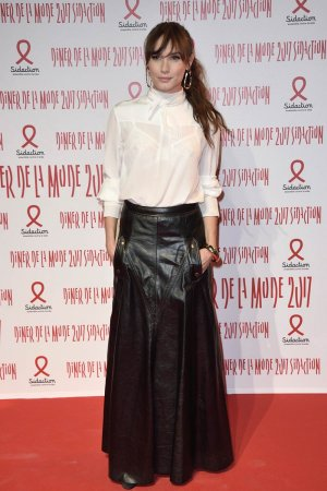 Ana Girardot attends Sidaction Gala Dinner Haute Couture Fashion Week