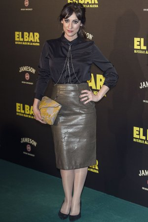 Ana Morgade attends El Bar premiere