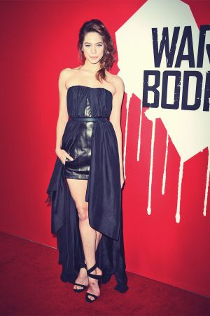 Analeigh Tipton attends Warm Bodies Hollywood premiere