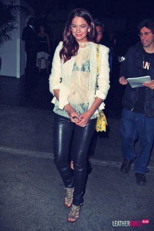 Analeigh Tipton seen leaving Chateau Marmont