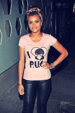 Andra Day at Couture Nightclub in Hollywood