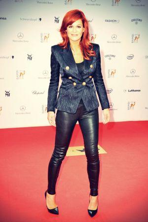 Andrea Berg attends 65 Bambi award ceremony