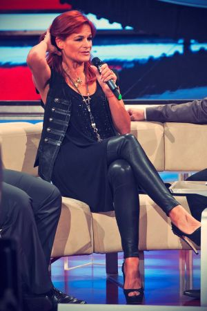 Andrea Berg attends Understand fun in the arena in Trier