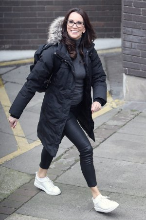 Andrea McLean at itv Studio