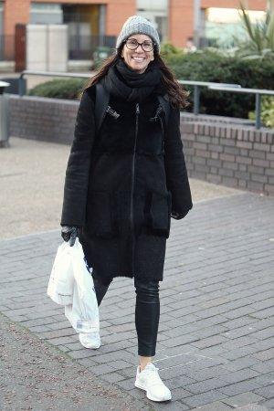 Andrea McLean at ITV Studios in London