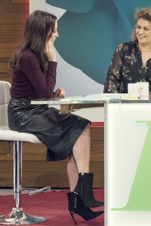 Andrea McLean attends Loose Women TV Show