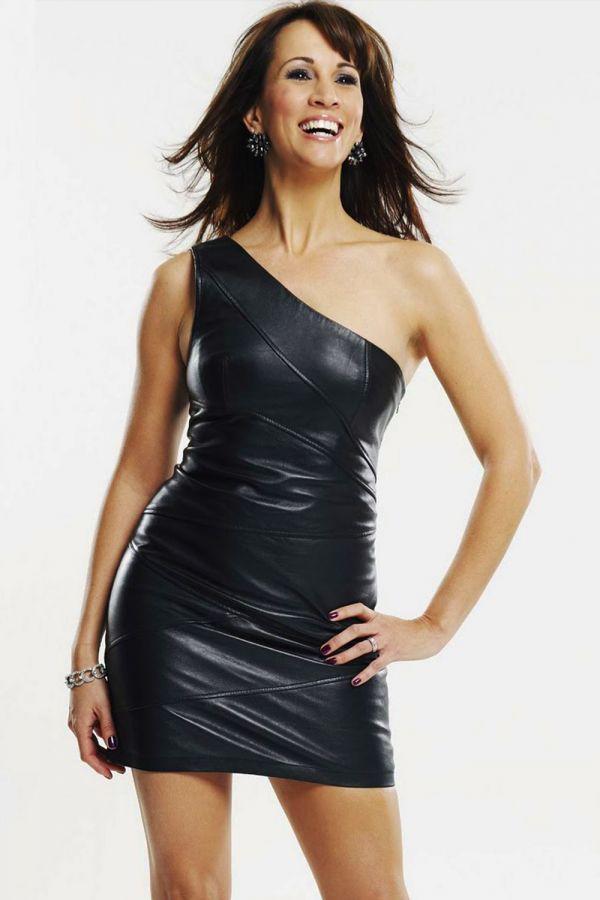 Andrea Mclean Matte Leete Photoshoot Leather Celebrities