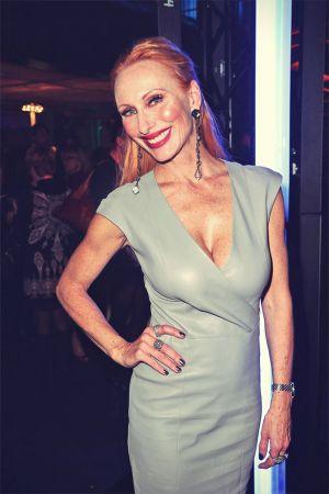 Andrea Sawatzki attends BRIGITTE Fashion Event