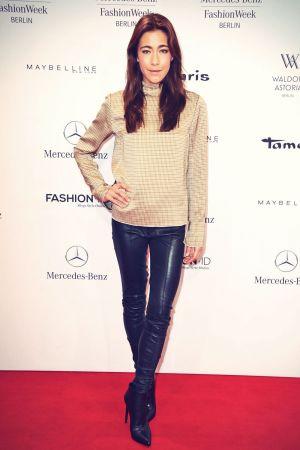 Angela Gessmann attends Mercedes-Benz Fashion Week #2