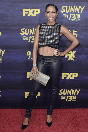 Angela Lewis attends Its Always Sunny in Philadelphia TV show premiere