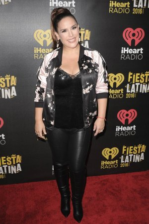 Angelica Vale attends iHeart Radio Fiesta Latina