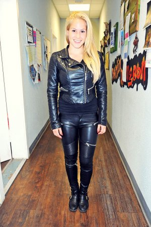 Angelina Heger attends Berlin Dungeon