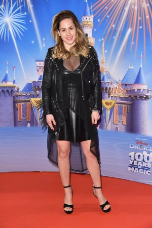 Angelina Heger attends Berlin Premiere von Disney on ice