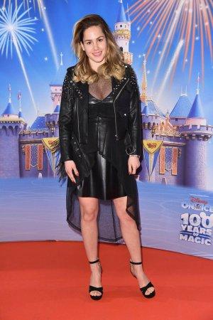 Angelina Heger attends Berlin Premiere von Disney on ice