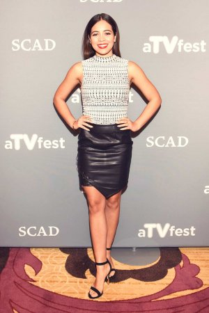 Angelique Rivera attends the American Crime event