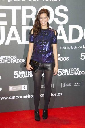 Angie Cepeda Cinco Metros Cuadrados premiere in Madrid