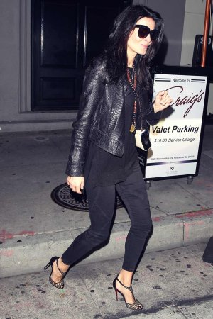 Angie Harmon at Craig's Restaurant