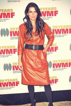 Angie Harmon attends 4th Annual The IWMF Courage