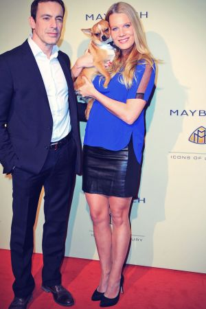 Anika Bormann attends Grand Opening Flagship Store Maybach Icons