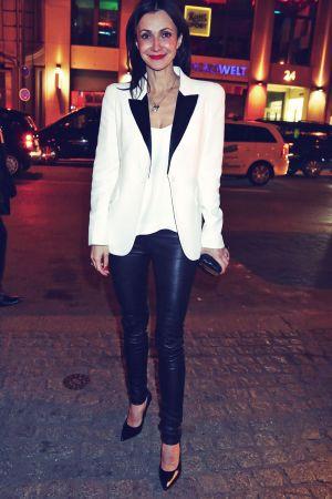 Anita Tillmann attends Mercedes-Benz Fashion Week