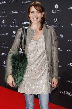 ... Anja Kling at Mercedes Benz Fashion Week