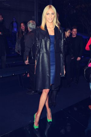 Anja Rubik at Versace AW 2012/2013 fashion show