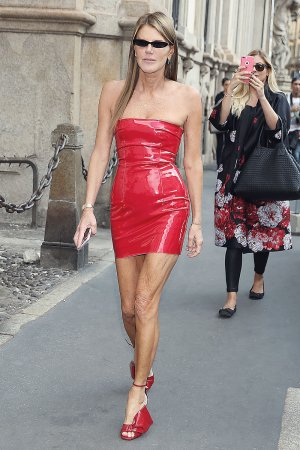 Anna Dello Russo attends Philosophy Show