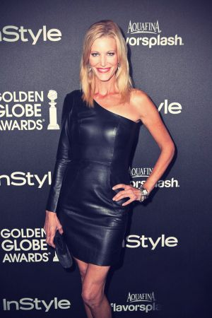 Anna Gunn attends The HFPA InStyle Party