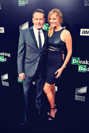 Anna Gunn hits the black carpet at the premiere of the final episodes of Breaking Bad