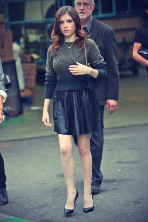 Anna Kendrick at ITV Studio candids in London