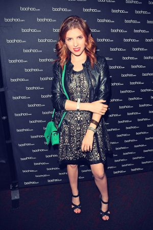 Anna Kendrick BOOHOO VIP viewing party for Beyonce