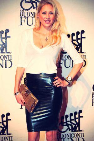 Anna Kournikova at Destination Fashion