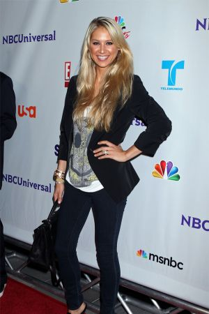 Anna Kournikova at NBC Universal TCA 2011 Press Tour All-Star Party