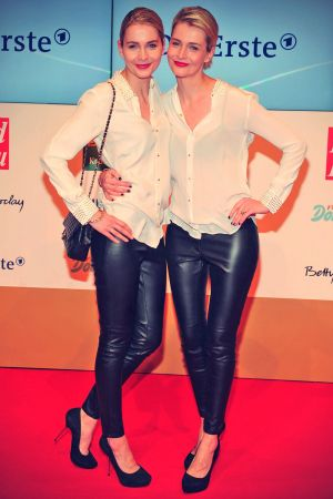 Anna & Lisa Heyse attends Golden Image of Woman Awards