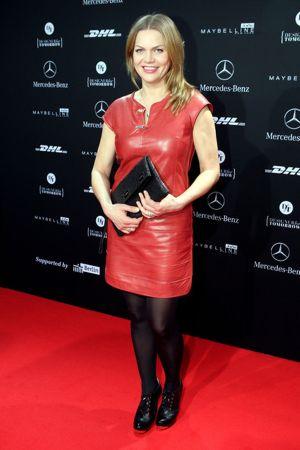 Anna Loos at Fashion Week Berlin