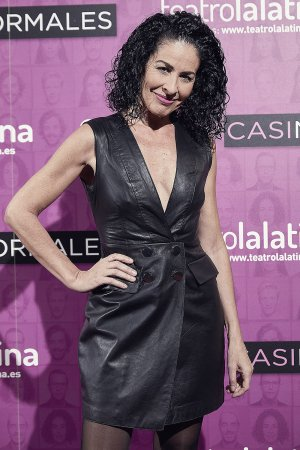 Anna Maria Agusti Flores attends Casi Normales play opening night