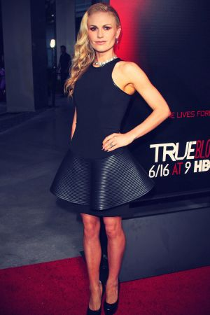 Anna Paquin attends True Blood season 6 premiere