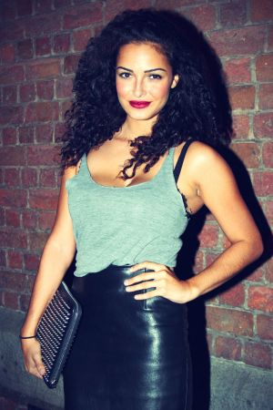 Anna Shaffer Leather Skirt