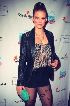 AnnaLynne McCord at 2nd annual 18 For 18 charity event