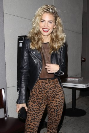 AnnaLynne McCord dinner at Craig's restaurant