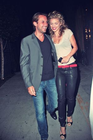 AnnaLynne McCord leaving Nobu restaurant