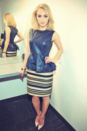 AnnaSophia Robb at Today Show Portraits