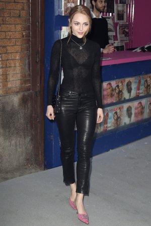 AnnaSophia Robb attends Swarovski Times Square store party