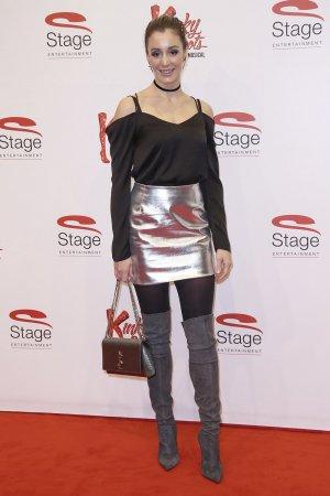 Anne-Kathrin Ertl attends Musical Kinky Boots Deutschland-Premiere