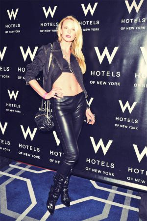 Anne Vyalitsyna leather mix
