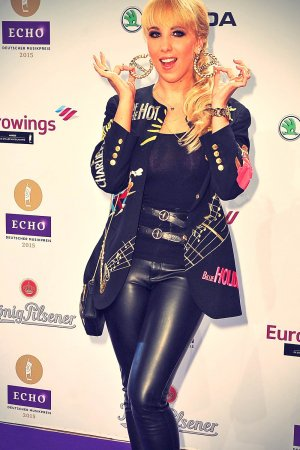 Annemarie Eilfeld attends Echo Awards 2015