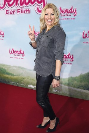 Annica Hansen attends the premiere of Wendy