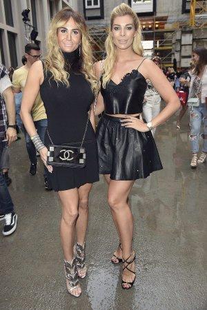 Annika Gassner & Rafaella Slyusareva attend Marina Hoermanseder Show